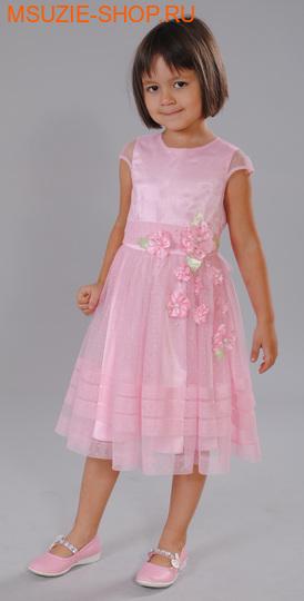 Флер де Ви платье. 98 розовый ростосень-зима<br><br>