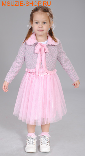 Флер де Ви жакет+юбка. 104 розовый ростосень-зима<br><br>