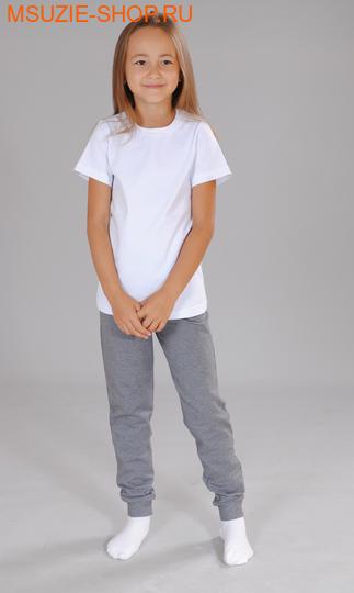 Милашка Сьюзи брюки. 104 серый ростБрюки, юбки  <br><br>