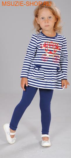 Милашка Сьюзи туника+лосины. 104 синий ростКомплекты<br><br>