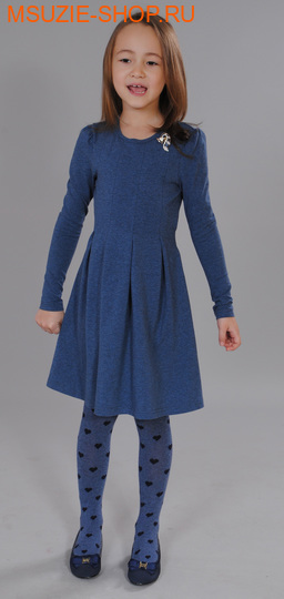 Флер де Ви платье. 116 индиго ростосень-зима<br><br>