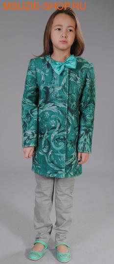 Флер де Ви пальто. 104 зеленый ростосень-зима<br><br>