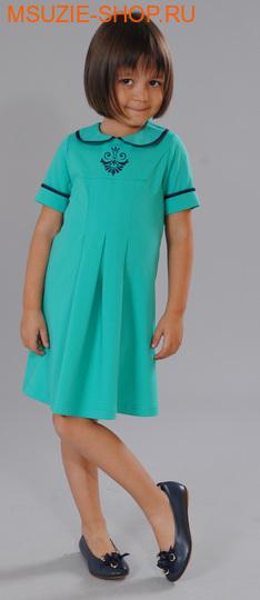 Флер де Ви платье. 98 зеленый ростосень-зима<br><br>