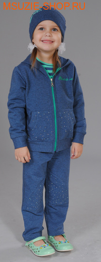 Флер де Ви куртка+брюки+шапка. 86 индиго ростосень-зима<br><br>