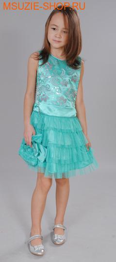 Флер де Ви платье. 110 зеленый ростосень-зима<br><br>