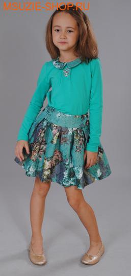 Флер де Ви юбка. 104 зеленый ростосень-зима<br><br>