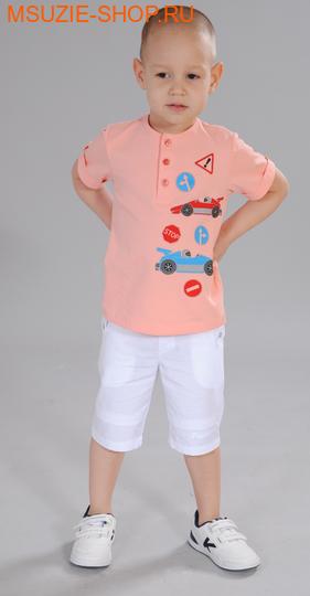 Милашка Сьюзи сорочка. 98 персик ростДжемпера, рубашки, кофты<br><br>