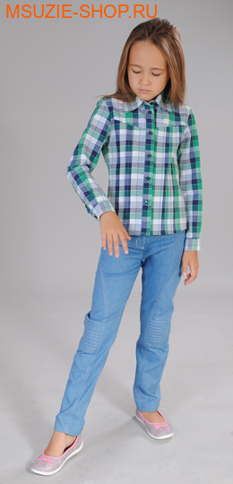 Милашка Сьюзи блузка. 116 ярк.зеленый ростДжемпера, рубашки, кофты<br><br>