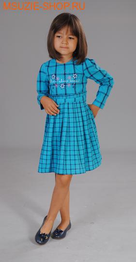 Милашка Сьюзи платье. 104 круп клетка ростПлатья <br><br>