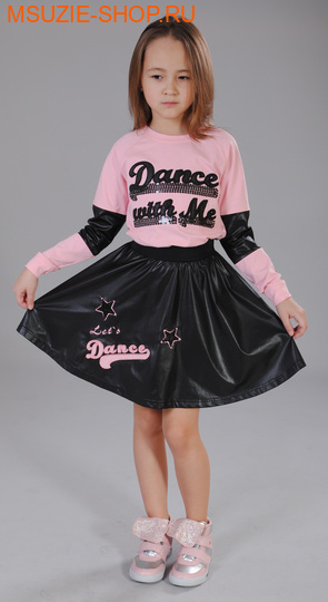 Флер де Ви блузка. 110 розовый ростДжемпера, рубашки, кофты<br><br>
