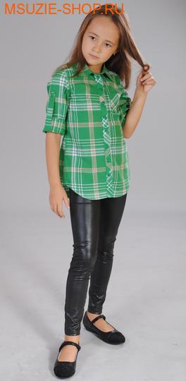 Милашка Сьюзи блузка. 86 зеленый ростновинки<br><br>