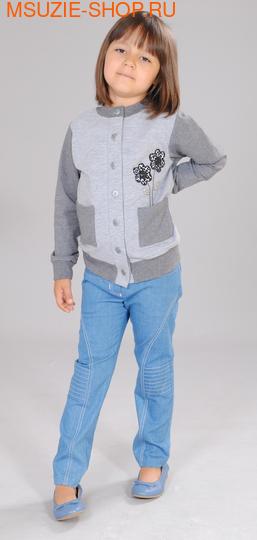 Милашка Сьюзи жакет. 104 серый ростДжемпера, рубашки, кофты<br><br>