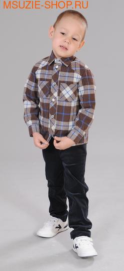 Милашка Сьюзи сорочка. 92 коричневый ростДжемпера, рубашки, кофты<br><br>