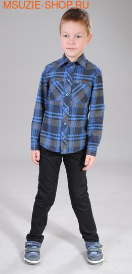 Милашка Сьюзи сорочка. 92 синий ростДжемпера, рубашки, кофты<br><br>
