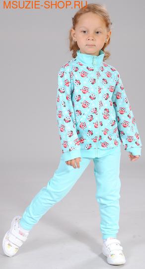 Милашка Сьюзи куртка. 104 бирюза ростДжемпера, рубашки, кофты<br><br>