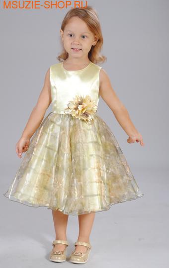 Милашка Сьюзи платье. 104 св.желтый ростНарядные платья <br><br>