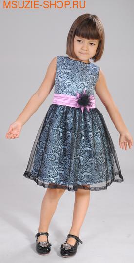 Милашка Сьюзи платье. 98 индиго ростНарядные платья <br><br>