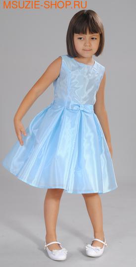 Милашка Сьюзи платье. 116 голубой ростНарядные платья <br><br>