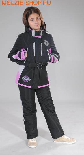 Милашка Сьюзи куртка+брюки ( Зима). 134 черный ростЗима<br><br>