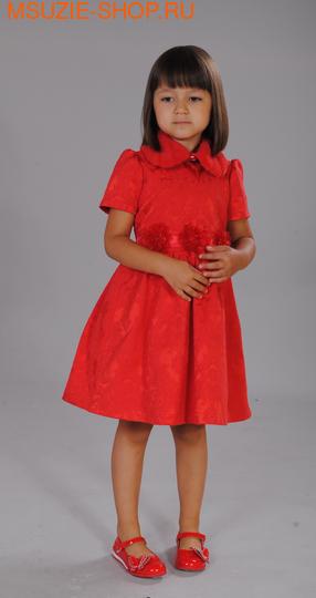 Флер де Ви платье. 104 красный ростНарядные платья <br><br>