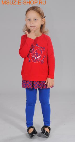 Милашка Сьюзи туника+лосины. 104 красный ростКомплекты<br><br>