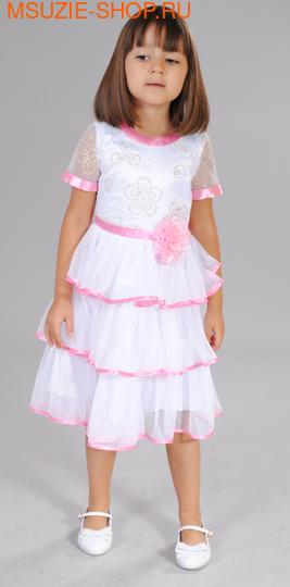 Милашка Сьюзи платье. 92 белый ростНарядные платья <br><br>