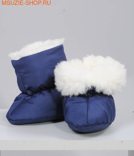 Милашка Сьюзи башмачки. 68 синий (однотон) ростчепчики,пеленки,рукавички<br><br>