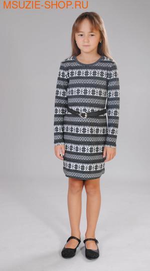 Милашка Сьюзи платье. 110 серый ростПлатья <br><br>