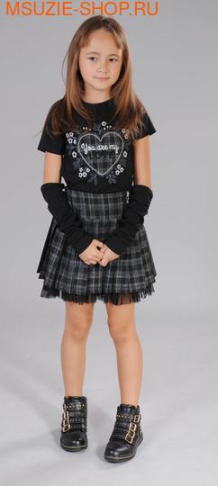 Милашка Сьюзи блузка,юбка,митенки. 122 ченый ростКомплекты<br><br>