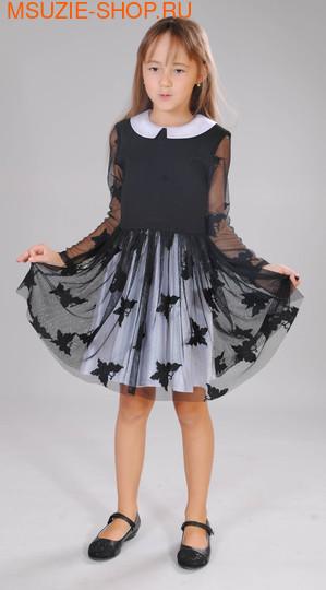 Милашка Сьюзи платье. 122 черный ростНарядные платья <br><br>