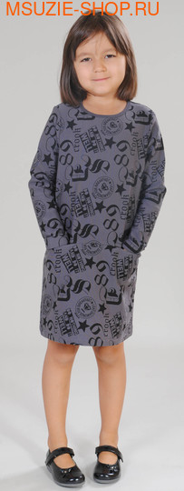 Милашка Сьюзи платье. 116 тем. серый ростПлатья <br><br>