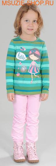 Милашка Сьюзи блузка. 104 морская волна ростДжемпера, рубашки, кофты<br><br>