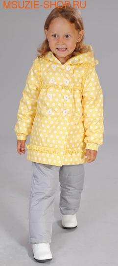 Милашка Сьюзи куртка. 86 желтый ростВесна-осень<br><br>