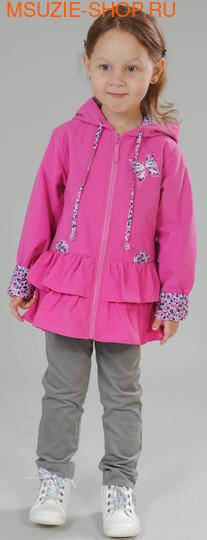 Милашка Сьюзи куртка. 104 фуксия+черный ростВесна-лето<br><br>