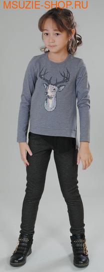 Милашка Сьюзи брюки. 104 черный ростБрюки, юбки  <br><br>