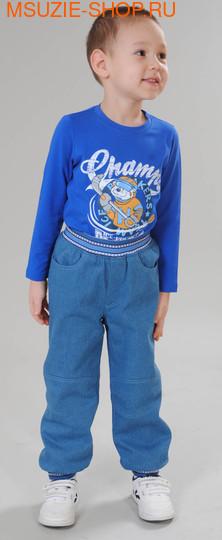 Милашка Сьюзи брюки на флисе. 86 голубой ростБрюки, шорты <br><br>