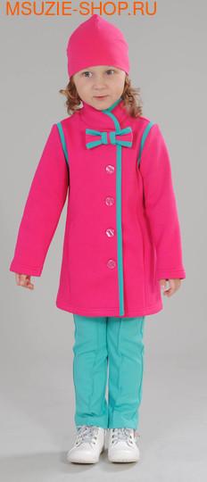 Милашка Сьюзи пальто+лосины+шапка. 104 фуксия ростВесна-лето<br><br>