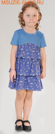 Милашка Сьюзи платье. 104 индиго ростПлатья <br><br>