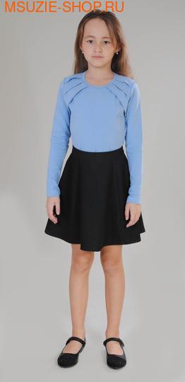 Милашка Сьюзи блузка. 122 голубой ростБлузки<br><br>