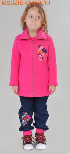 Милашка Сьюзи пальто. 104 фуксия ростВесна-лето<br><br>