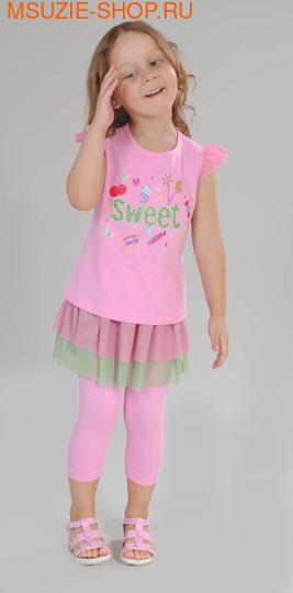 Милашка Сьюзи блузка+юбка-лосины. 104 розовый ростКомплекты<br><br>