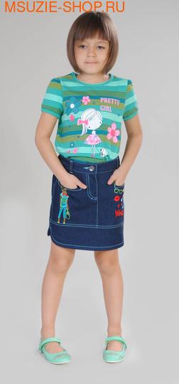 Милашка Сьюзи юбка. 110 синий ростБрюки, юбки  <br><br>