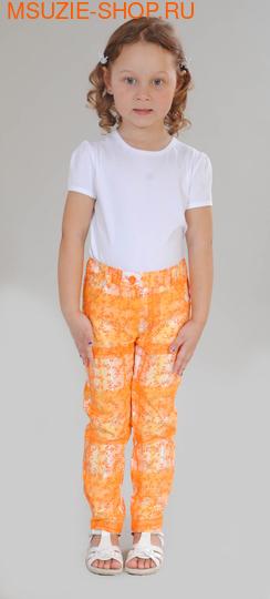 Милашка Сьюзи брюки. 104 оранжевый ростБрюки, юбки  <br><br>