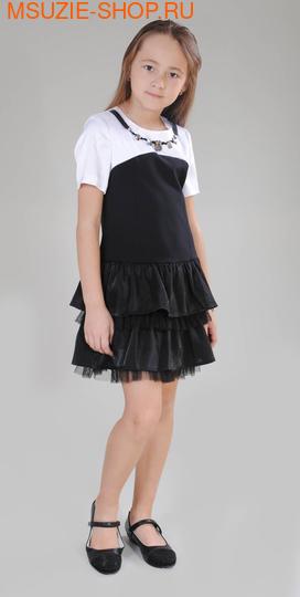 Милашка Сьюзи платье. 134 черный ростНарядные платья <br><br>