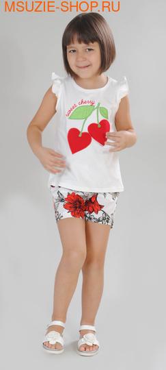 Милашка Сьюзи блузка+шорты. 104 молочный ростКомплекты<br><br>