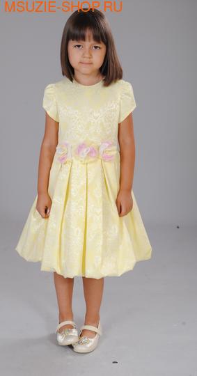 Флер де Ви платье. 104 желтый ростНарядные платья <br><br>