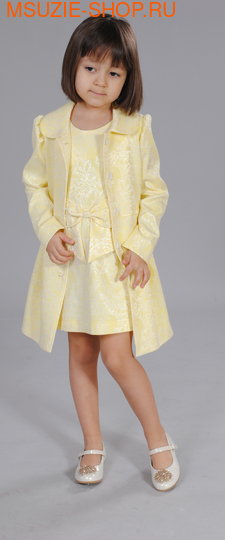 Флер де Ви пальто. 134 желтый ростВесна-лето<br><br>