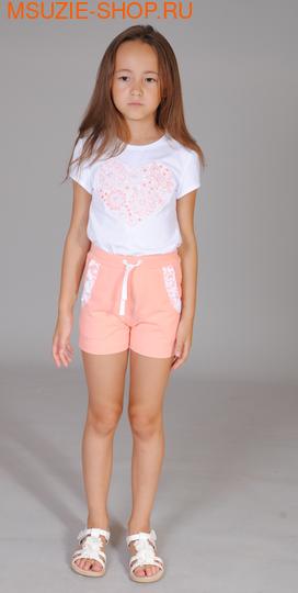 Флер де Ви футболка. 110 белый ростДжемпера, рубашки, кофты<br><br>