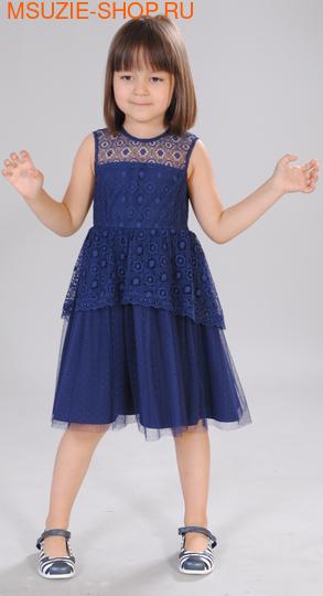 Флер де Ви платье. 104 синий ростПлатья <br><br>