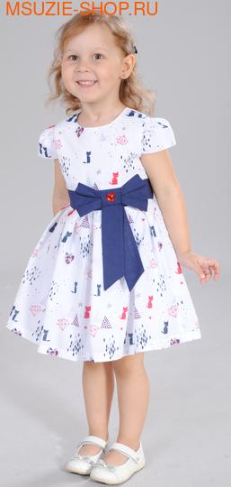 Флер де Ви платье. 86 белый ростПлатья <br><br>